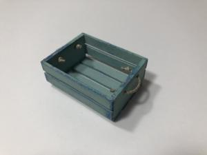 Blue and Teal Crate