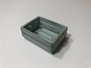 Duck Egg Blue Crate