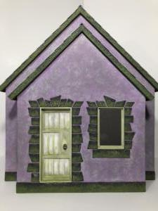 Purple Cottage Front