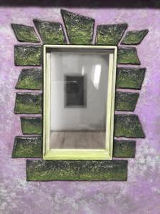 Purple Cottage Window Detail